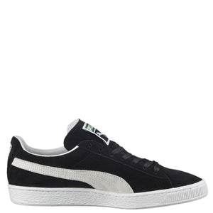 Men's Suede Classic + Low Sneaker - Black/white