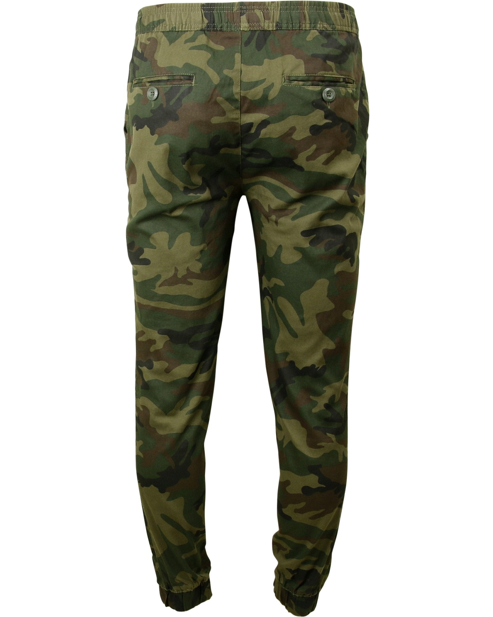 Galaxy By Harvic - Men's Solid Twill Joggers - V.I.M. - 2