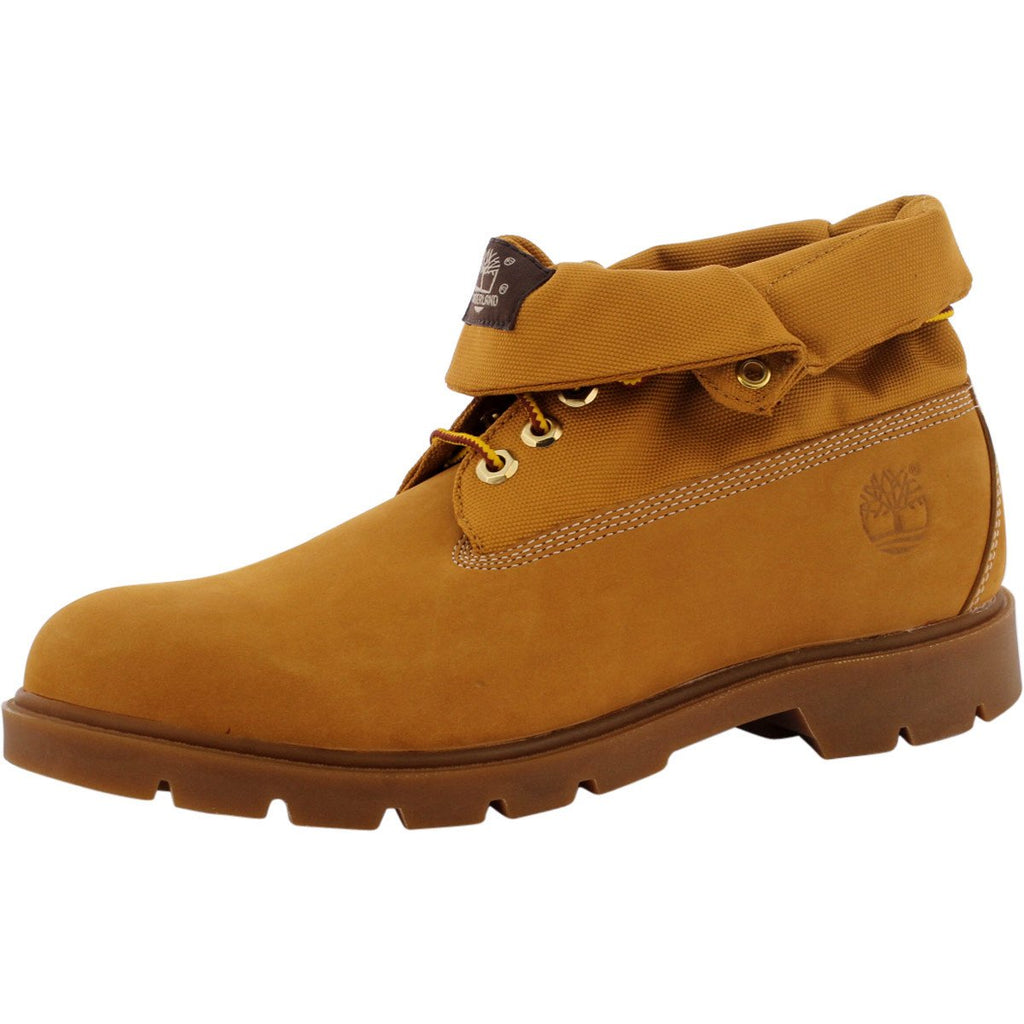 Timberland - Men's Basic Roll Top Boot - Wheat Nubuck - V.I.M. - 1