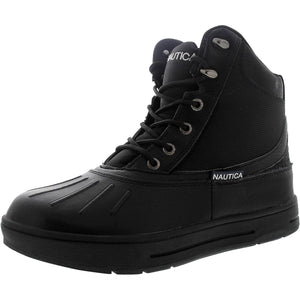 Nautica - Men's New Bedford Waterproof Outdoor Boots - Black - V.I.M. - 1