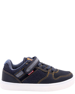 Levi's - Boy's Davis Denim Sneakers (Preschool) - V.I.M. - 1