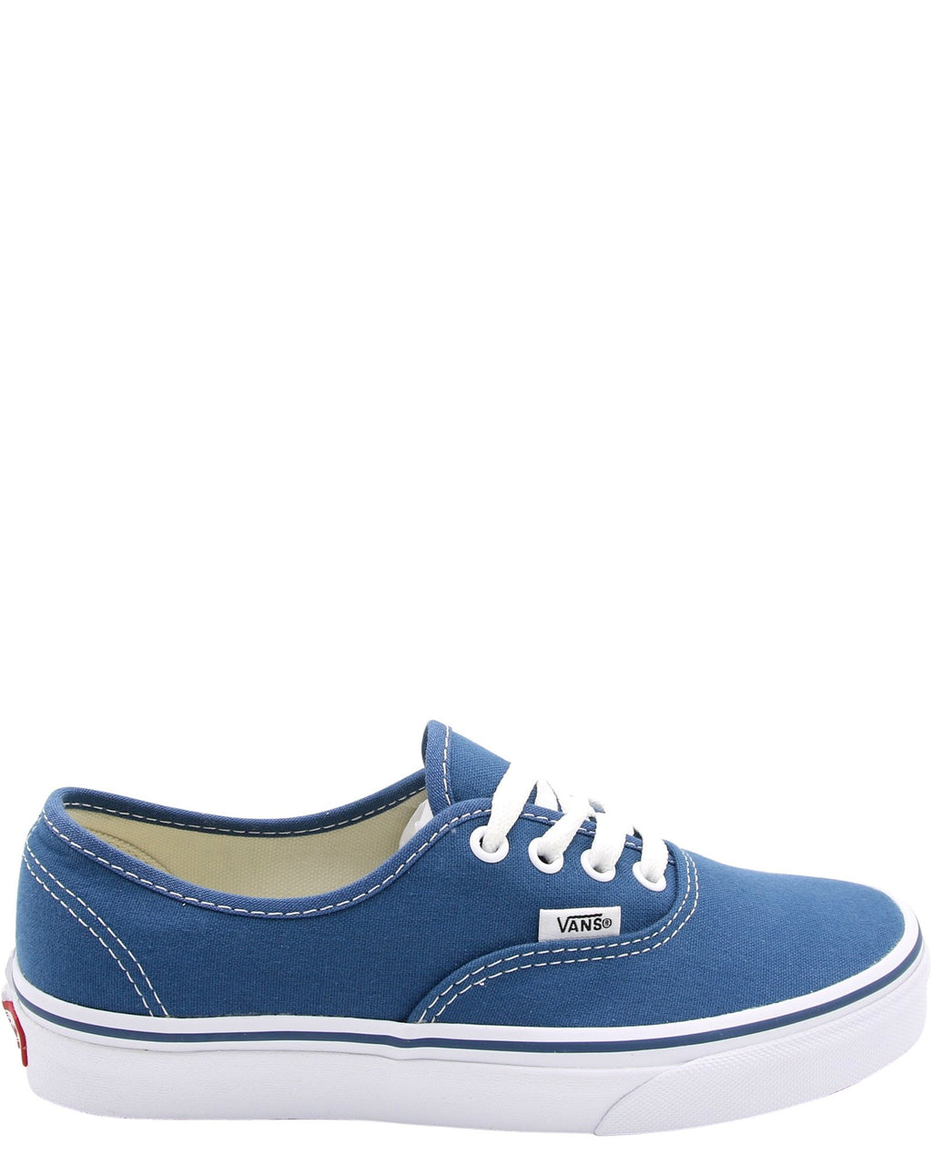Authentic Low Canvas Skate Sneakers (Grade School)