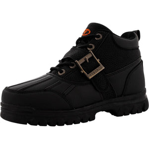 Viking - Irving Buckle Waterproof Ankle Boot (Big Kid) - Black - V.I.M. - 1