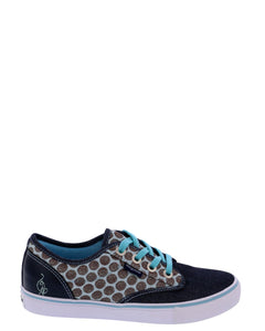 Girl's Porter Bp Polka Dot Chambray Sneakers (PreSchool/Grade School)