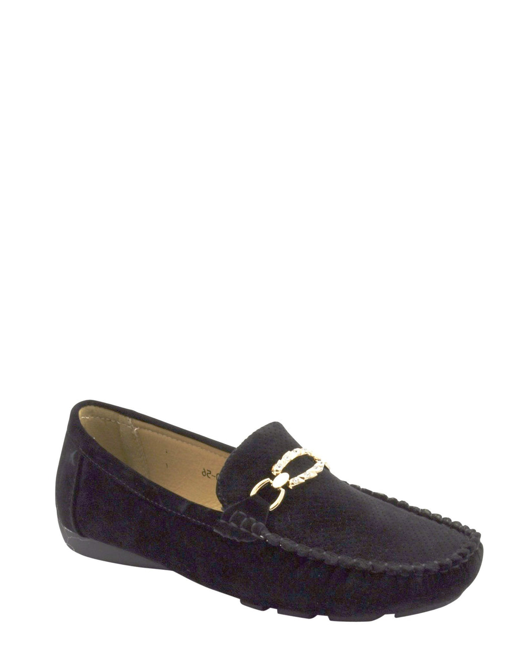 Women's Suede Buckle Loafer