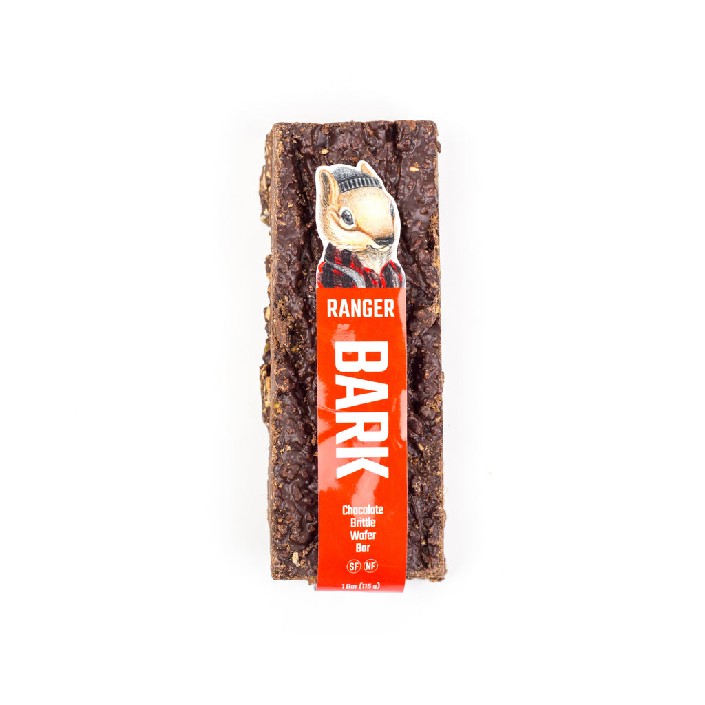 Bark, Chocolate Brittle Wafer Bar