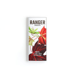 Ranger Chocolate 66% Cacao with Maple Sugar 2.25oz.