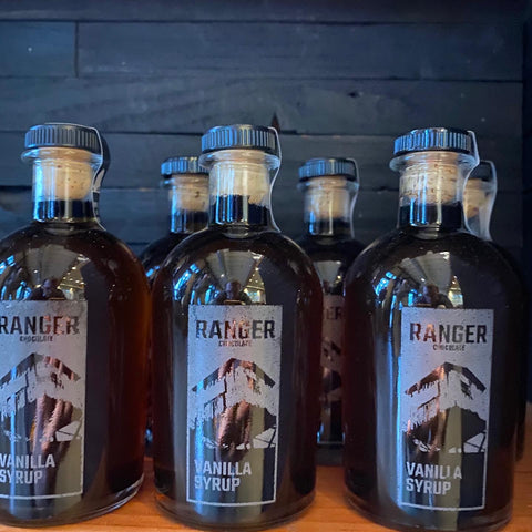 Ranger Vanilla Syrup, 200ml, Etched Bottle