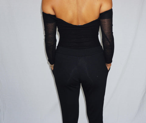 Alia Off-shoulder Bodysuit