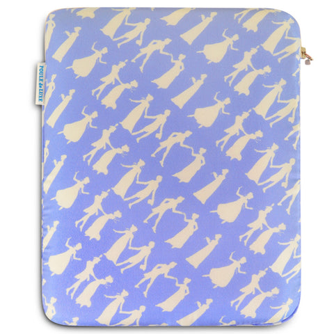 iPad Case - Pride and Prejudice Wedgewood Blue