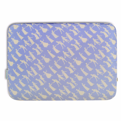 Laptop Case - Pride and Prejudice Wedgewood Blue