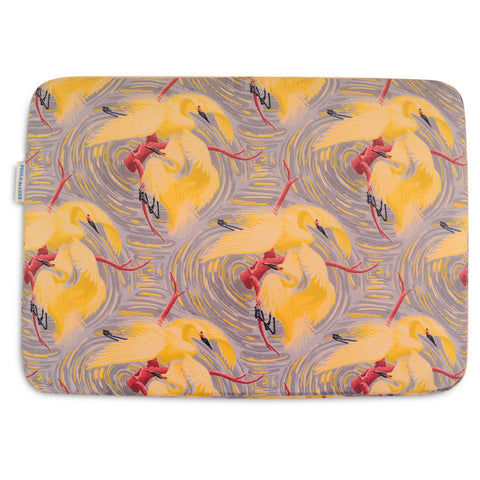 Laptop Case - Fenice Yellow and Grey
