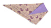 Dog Bandana - Chantilly Lace Lavender