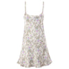 Delicate Floral Chemise Silk Nightdress