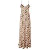 Panciotto Coral Long Silk Nightdress
