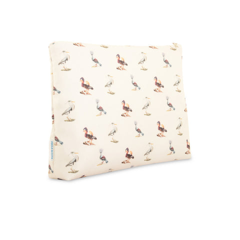 Birds - Large Silk Washbag