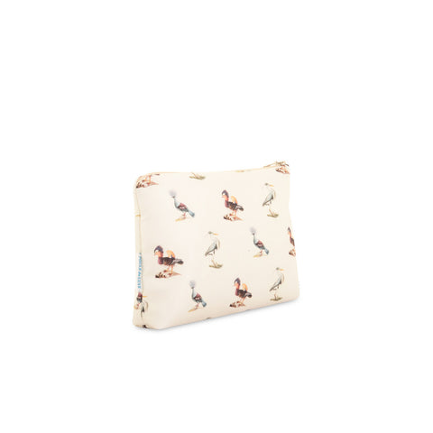 Birds - Silk Makeup Bag