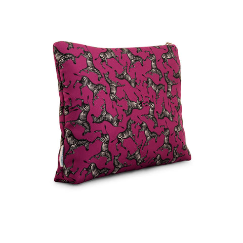 Schiparelli Zebra - Large Silk Washbag
