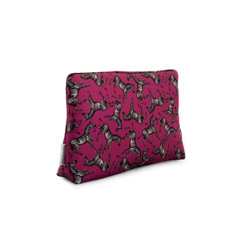 Schiparelli Zebra - Medium Silk Washbag