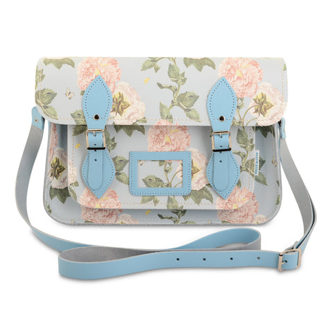 Special Edition Satchel - Damascena Periwinkle Blue