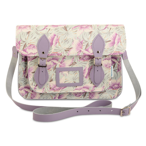 Special Edition Satchel - Moonbeam Butterfly Aqua and Purple