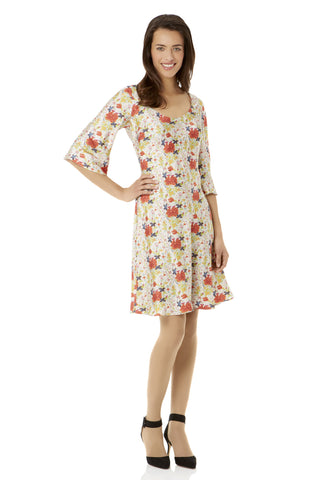 Mason's Imari Silk Shift Dress