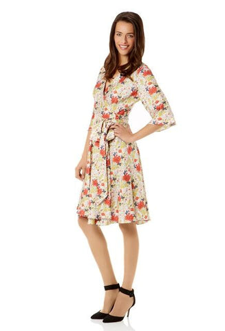 Mason's Imari Silk Wrap Dress