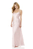 Pride and Prejudice Wedgewood Pink Long Silk Nightdress