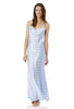 Pride and Prejudice Wedgewood Blue Long Silk Nightdress
