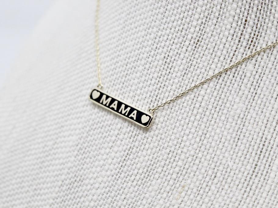 Mama Necklace - Stamp