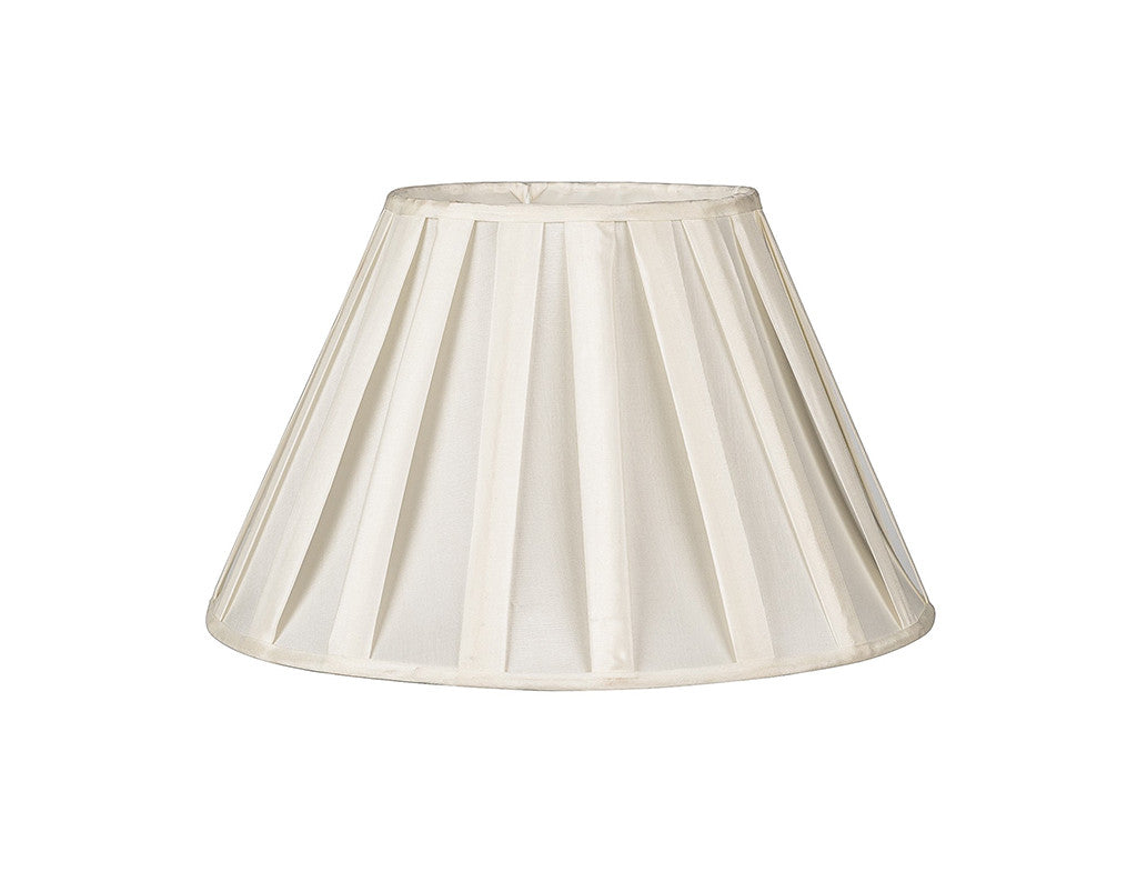 "Off-White Ribbon Lamp Shade 18""  Lighting - Bow House Lifestyle"