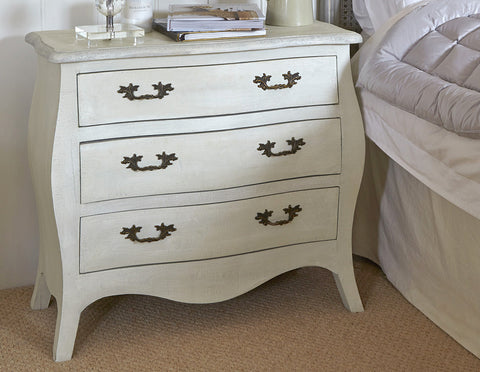 Hamilton 3 Drawer Chest hand finished in bespoke finish  Chests - Bow House Lifestyle
