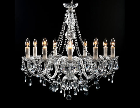 Carina 9 light Chandelier  Lighting - Bow House Lifestyle