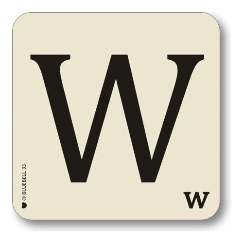 W Letter Placemat