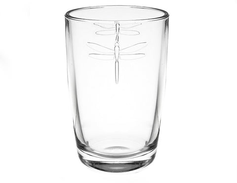 Dragonfly Large Tumbler  Glassware - Bow House Lifestyle