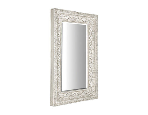 Evonna Large Carved Mirror  Mirrors - Bow House Lifestyle