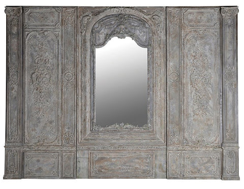 Masson 3 Piece Wall Panel With Mirror  Screens - Bow House Lifestyle