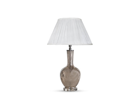 Abel Lamp Base in Mercury  Lighting - Bow House Lifestyle