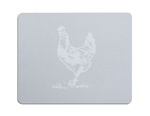 Evelyn Grey Chicken Place Mats  Gifts - Bow House Lifestyle