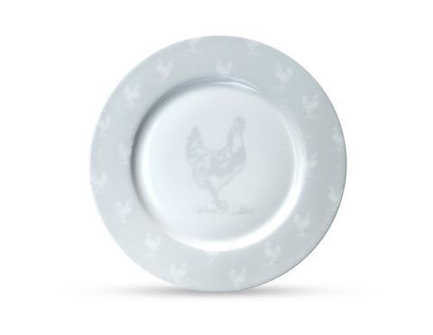 Chicken Dinner Plate  Crockery - Bow House Lifestyle