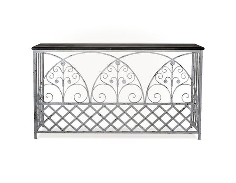 Balmoral Iron Side table  Sideboards and Console Tables - Bow House Lifestyle