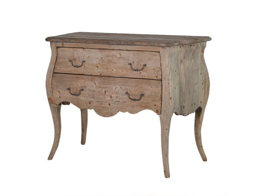 Quinton Reclaimed Pine Bedside Table  Side tables and bedsides - Bow House Lifestyle