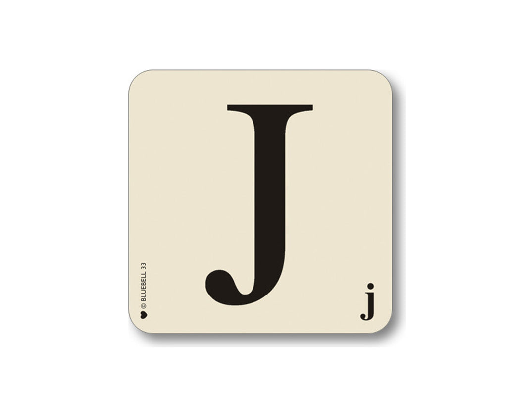 J Letter Placemat  Placemat - Bow House Lifestyle