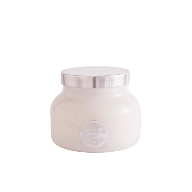 Capri Candle Large - White