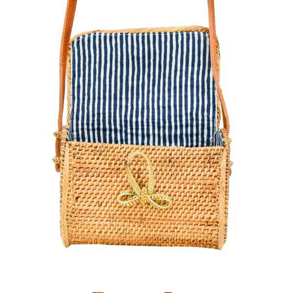 Sophia Straw Bag