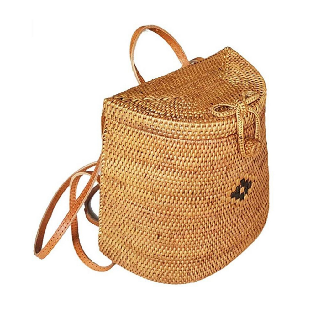 Sundara Straw Backpack