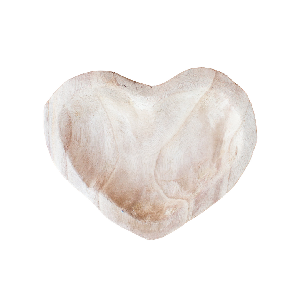 Paulownia Wood Heart Bowl
