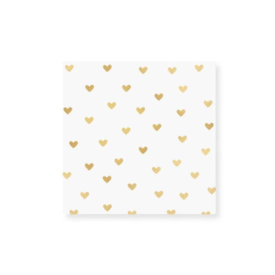 Match Box Mini - Gold Heart