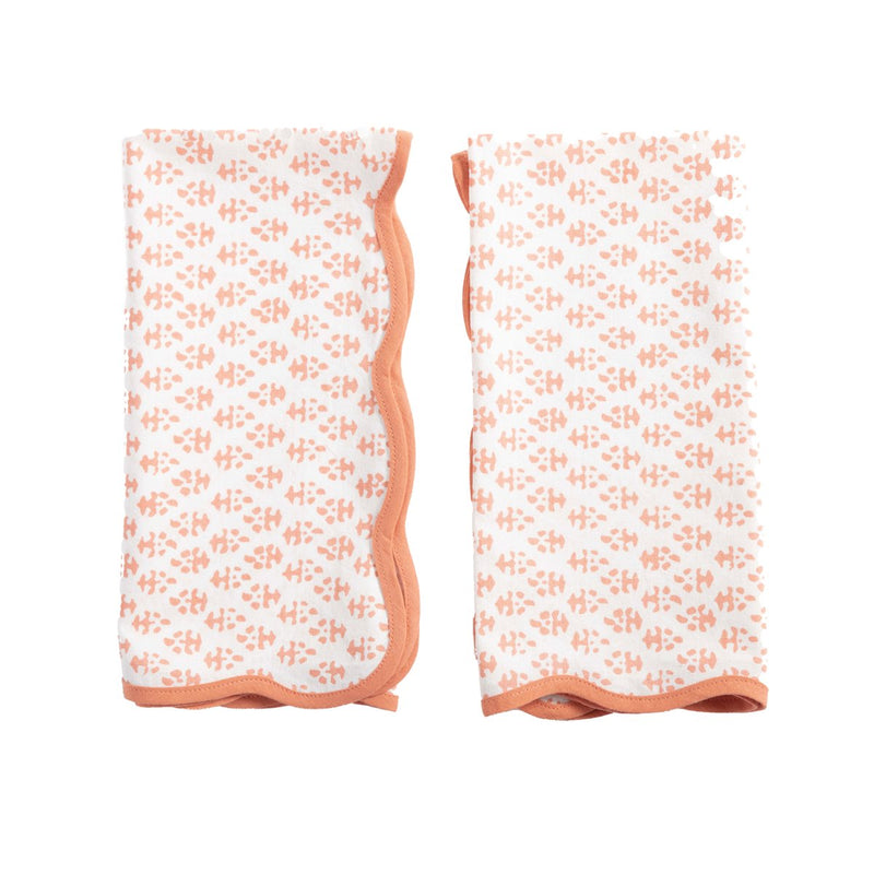 Batik Napkins (Set of 4) - Coral