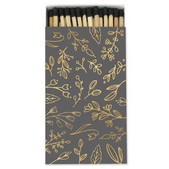 Match Box - Black Floral